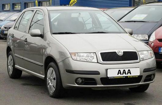 Škoda Fabia 2006 1.2 Ambiente, 73 136km, servisní kniha