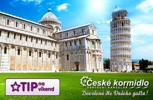 Čtyřdenní luxusní zájezd do Toskánska s 35% slevou!