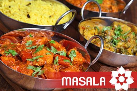 50% sleva v indické restauraci Masala