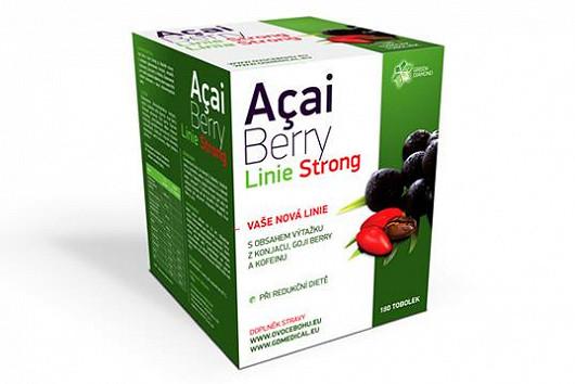 Novinka - Acai Berry Linie Strong s exkluzivní recepturou GOJI, KÁVY pro úspěšné hubnutí bez hladu