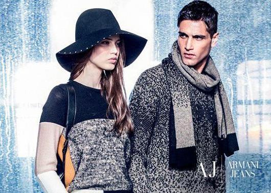 Uvolněný styl od Armani Jeans