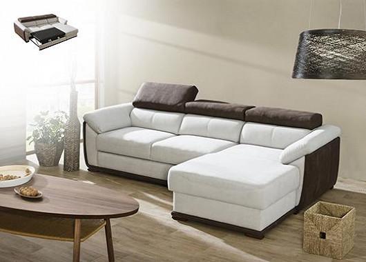 Jak proměnit malý obývák několika rychlými tahy na ložnici? Odpoví vám pohodlná rozkládací pohovka