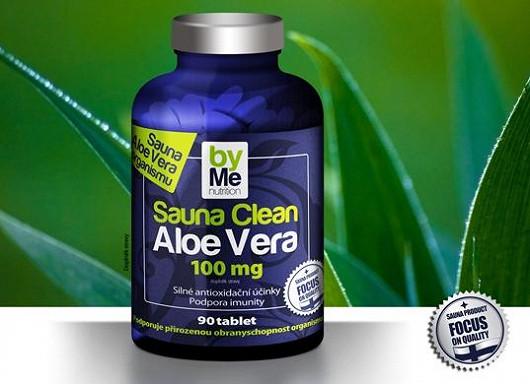 Sauna Clean Aloe Vera 100 mg