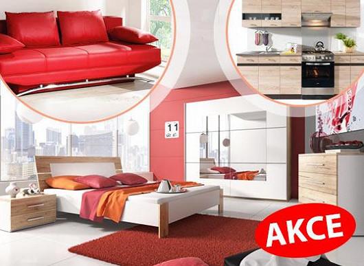 Exkluzivní akční ceny nábytku! Tisíce modelů se slevou až 66 % - bydlete v novém roce lépe