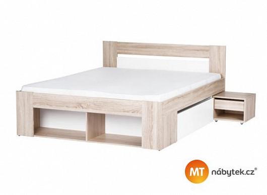 Dokáže manželská postel nahradit i skříň? Dokáže, a navíc je teď se skvělou slevou
