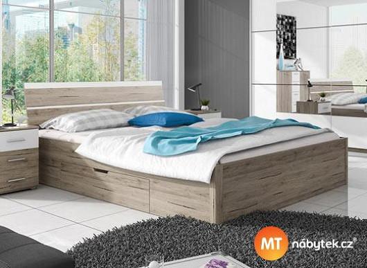 Kvalitní spánek = půl zdraví. Dopřejte si ho na oblíbené manželské posteli za super cenu