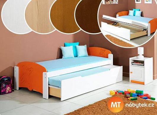 3 v jedné posteli aneb Dokonalé využití místa v dětském pokojíčku