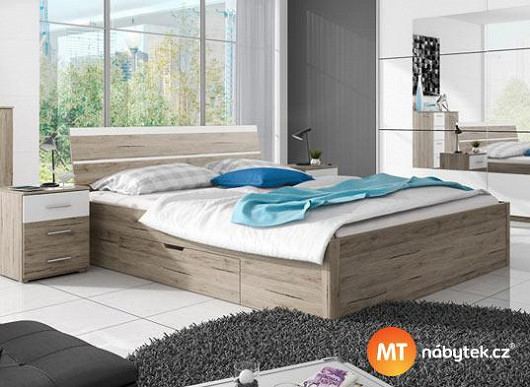 Výběr velikosti, různé typy matrací, praktický úložný prostor. Vylaďte si spaní na míru