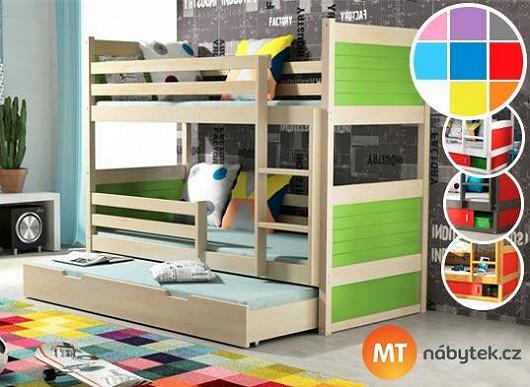 Zatáhněte do hry i děti. Ze 40 barevných variant jejich postele může vyhrát jen jedna