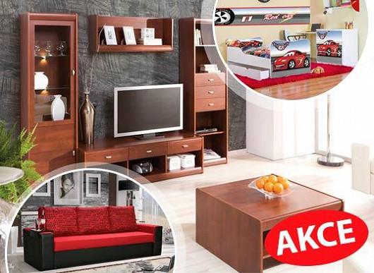 Vybavte si domácnost právě teď a ušetřete tisíce - nábytek v akci do 13. srpna