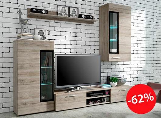 """Petra: """"Nábytek vypadá skvěle, snadná montáž."""" Tu obývací stěnu si zamilujete i vy"""