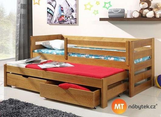 Neochuďte děti o místo na hraní. S postelí 3 v 1 zařídíte pokojík nanejvýš účelně