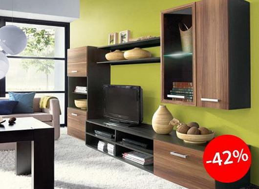Vylepšete své bydlení s obývací stěnou za neskutečnou cenu. Všichni budou koukat