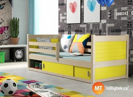 Holka nebo kluk, princezna nebo raubíř? 40 barev postele udělá radost každému z nich