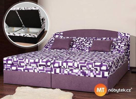 Pořádná matrace, vysoká nosnost, velikost podle představ. Co víc si od postele přát?