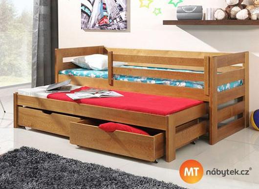 Neochuďte děti o místo na hraní. S postelí 3 v 1 zařídíte pokojíček nanejvýš účelně