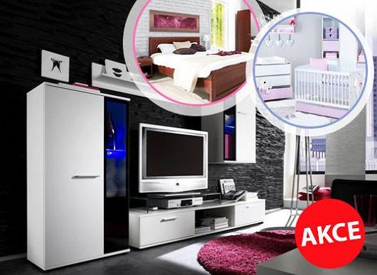 Ulovte si slevu až 73 % - velký podzimní hon na nízké ceny nábytku končí přesně o půlnoci!