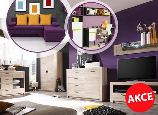 Výběr z 9 a půl tisíce modelů nábytku, akční slevy až 63 % - zbývá už jen pár hodin!