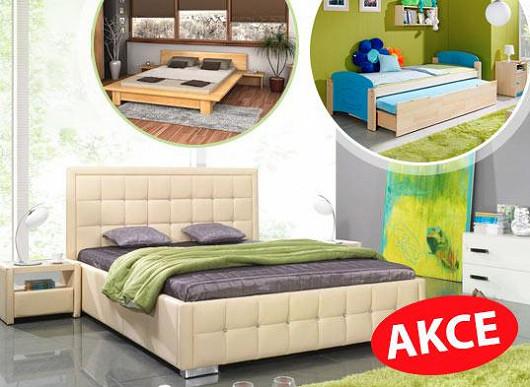 Lepší postele pro děti, dospěláky i důchodce. Najdete si mezi stovkami lůžek to své?