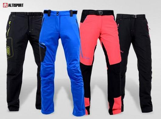 Trekingové kalhoty od českého výrobce Altisport