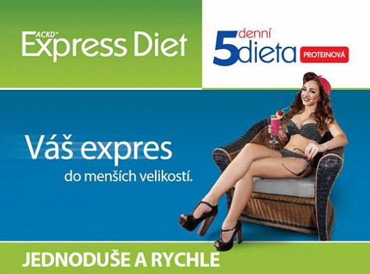 5denní ketonová dieta Express Diet, dieta bez hladovění