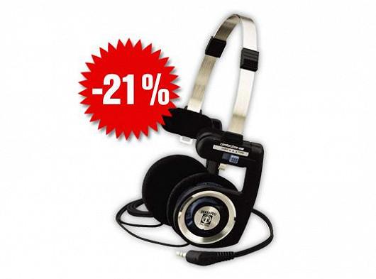 Sleva 21% na oblíbená sluchátka
