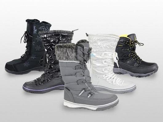 Zimní boty, které zajisté splní vaše očekávání nyní se slevou až 68 %