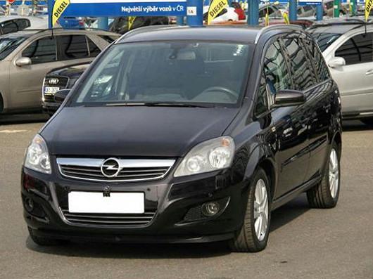 Elegantní a prostorné MPV Opel Zafira 1,7 CDTi, z roku 2009, po 1. majiteli, najeto pouze 69 673 km