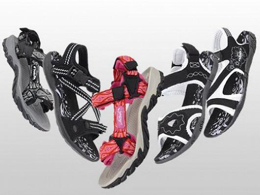 Vzdušné sandále pro pohodové léto