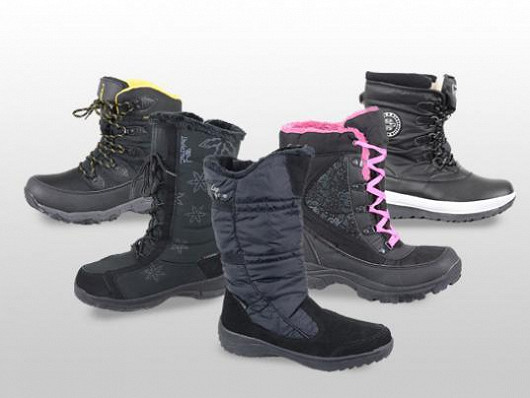 Zimní boty, ve kterých vám zima rozhodně nebude!