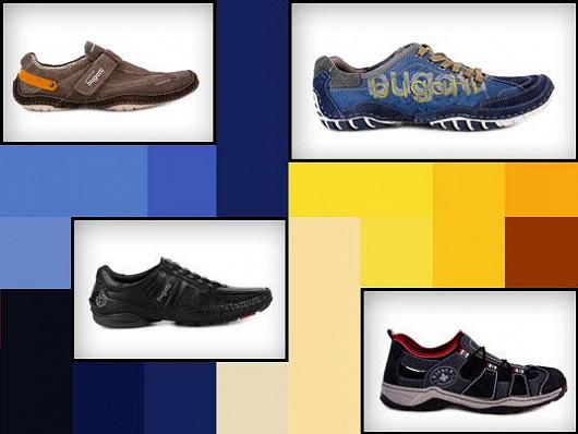 Celá kolekce pánských bot pro jaro/léto 2013