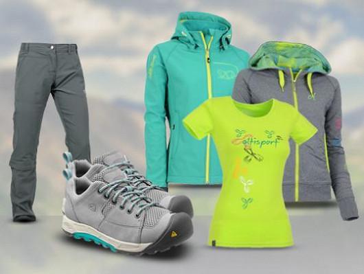 Trekingové kalhoty a boty vhodné pro sport a různé outdoorové aktivity!