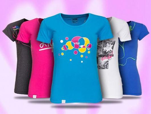Dámská trička pro různé příležitosti!