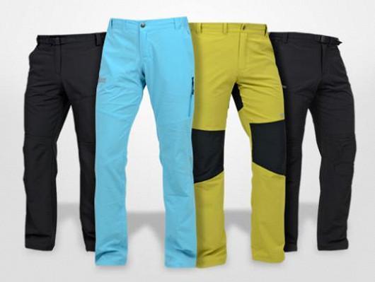 Trekingové kalhoty vhodné pro sport a různé outdoorové aktivity!
