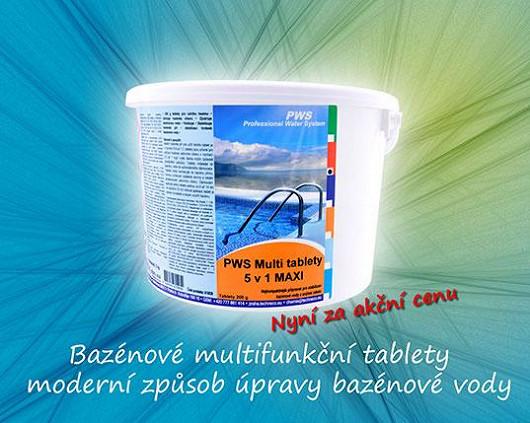 Bazénové multifunkční tablety – moderní způsob úpravy bazénové vody