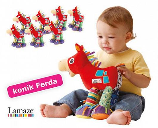 Každé spokojené mrně vyrůstá s proslulými hračkami Lamaze!