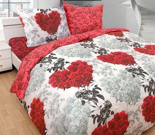 Chcete, aby vaši ložnici naplnila romantická atmosféra? Vsaďte na povlečení Amore!