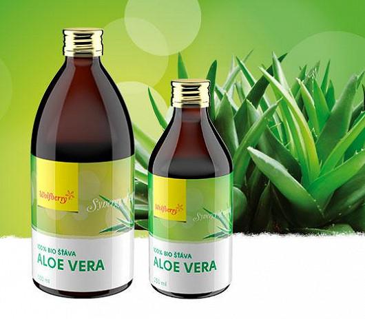 Aloe vera šťáva 100% BIO