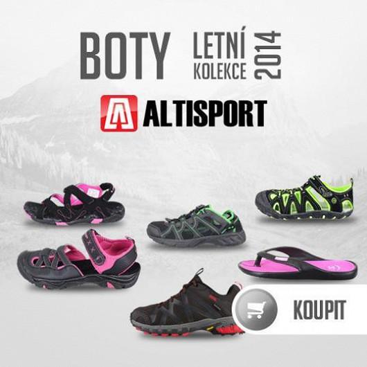 Pohodlné sportovní boty, letní sandály a žabky pro každého!