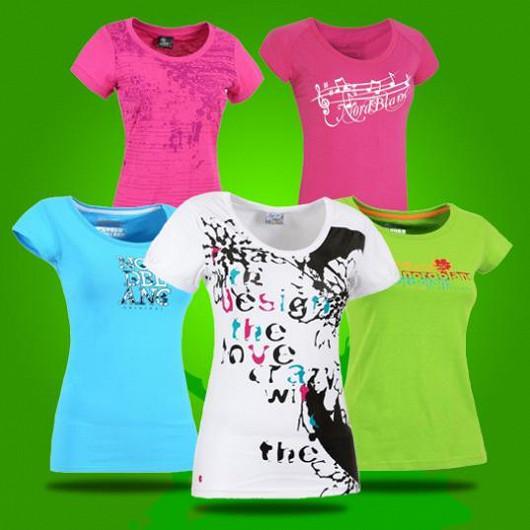 Slevy -70% na luxusní sortiment dámských triček!