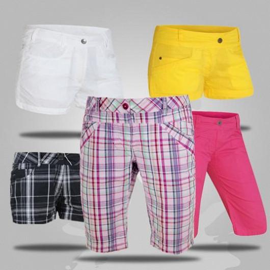 Letní šortky a kraťasy na koupání i do města!
