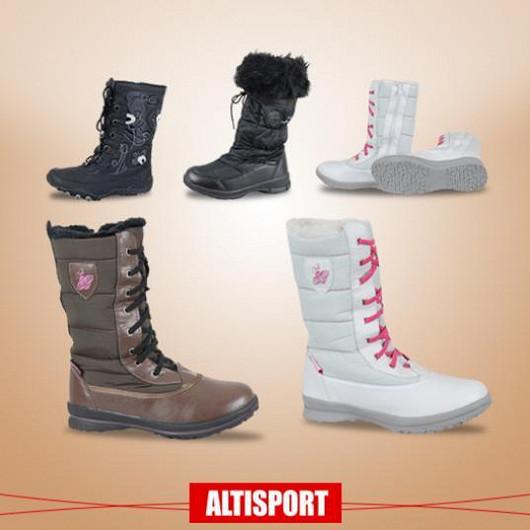 Zimní boty pro všechny věkové kategorie