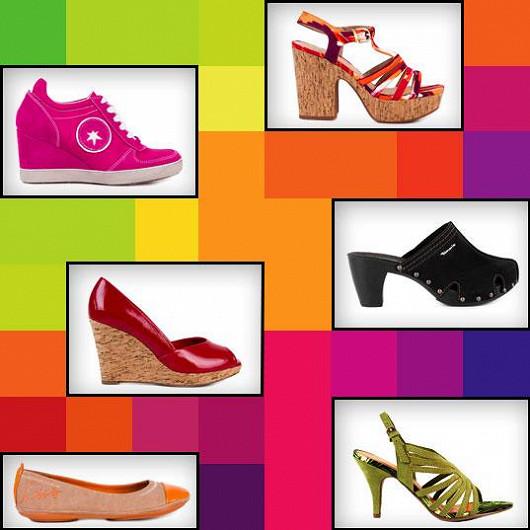 Celá kolekce dámských bot pro jaro/léto 2013