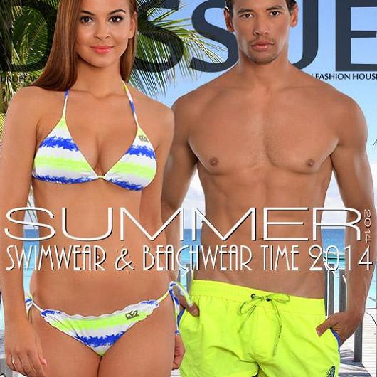 """Okouzlete letos ve """"značkovém"""" na pláži! Na nové značkové plavky je ten správný čas - Emporio Armani, CC7 a Roberto Lucca kolekce 2014!"""