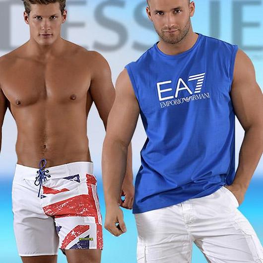 Plavky v letní nabídce pro muže jsou pestré a od renomovaných značek!