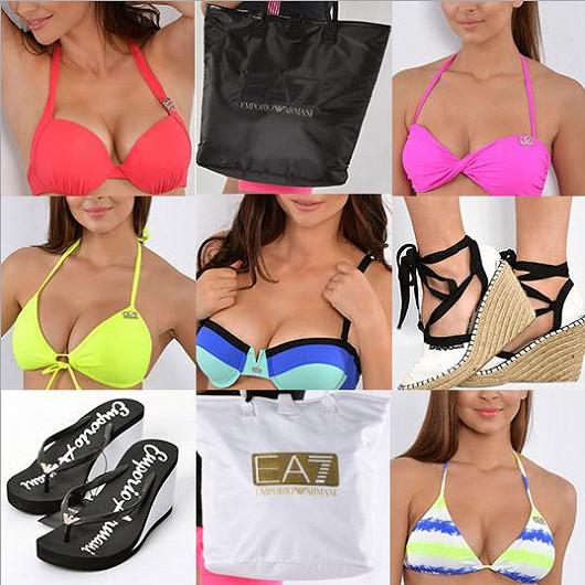 Značkové dámské plavky a beachwear v dokonalých střizích od módních bohů...