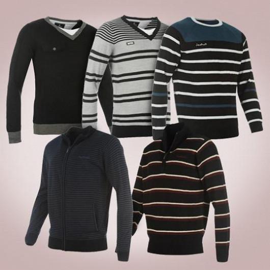 V letošní sezóně se staly hitem módní a funkční pánské svetry. Zahřejí každého muže a potěší oči žen