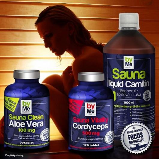 OČISTA ORGANISMU v sauně Akce 2+1 ZDARMA Sauna Clean Aloe Vera