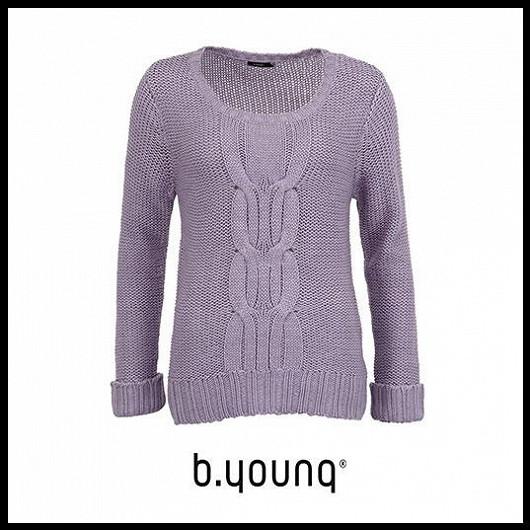 3. Trend: Lila a pletené svetry