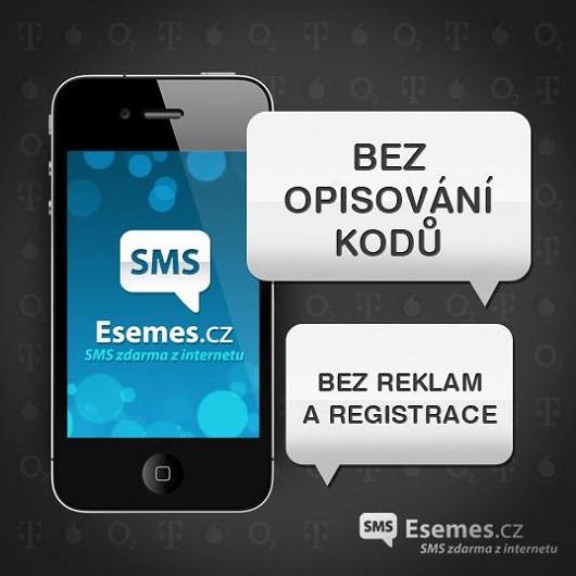 Brána Esemes.cz umožňuje posílat SMS zdarma do jakékoli sítě.